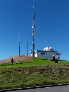 The site on Kaiti Hill towering above Gisborne