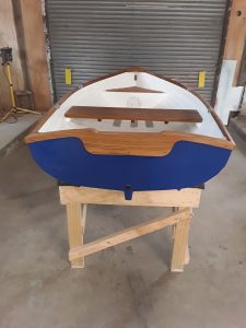 One of Laver Marine's classic hand made dinghies