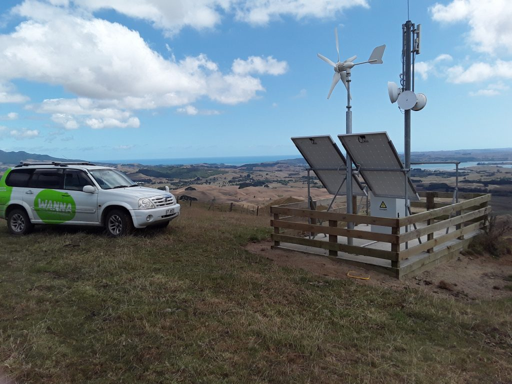 High on a hill overlooking Raglan and the west coast, Wanna's Mount Te Uku Station site is as solid as they come.